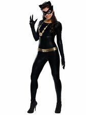 Top Totty Black Cool Tight Stretch Cosplay Halloween Costume Catsuit