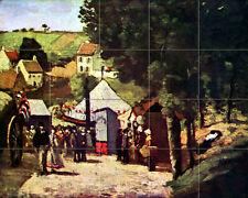 Mural Ceramic Tiles Home Cezanne Decor Tile #385