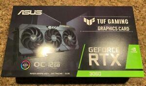 ASUS TUF GAMING GeForce RTX 3060 OC 12GB GDDR6 Graphics Card..BRAND NEW