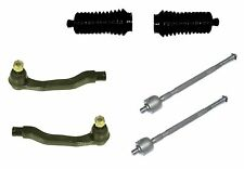 Megane II & Scenic II Left + Right Inner & Outer Tie Rod End Steering Track Rod