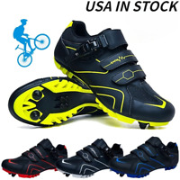 MTB Cycling Shoes Men Outdoor Bicycle Sneakers Self-Locking Mountain Bike Shoes