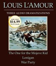 Louis L'Amour: One for the Mohave Kid - Lonigan - War Party UNABRIDGED CD *NEW*