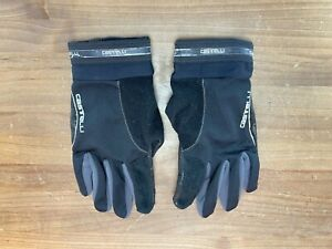 Castelli Cold Weather Winter Cycling Gloves Black XLarge