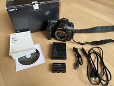 Sony α (Alpha) a99 slt-a99v Body Boîtier - 53600 Auslösungen