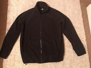 Ladies Black Regatta Zip-Up Fleece Size L