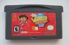 Dora the Explorer: Dora's World Adventure Nintendo Game Boy Advance SP DS Lite