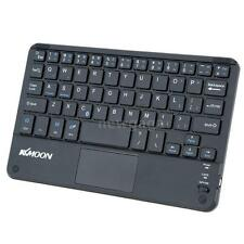 New Slim Mini i BT Wireless Keyboard TouchPad for PC Laptop Tablet Android Black