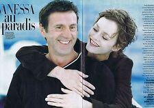Coupure de presse Clipping 1999 Vanessa Paradis  (6 pages)  la fille sur le pont