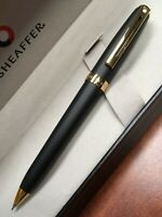 Sheaffer Prelude Matte Black With Gold Plate 0.7 Pencil