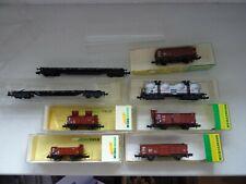 Spur N Konvolut Güterwagen Minitrix 8 Stück