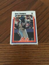 1989 New York Mets Kahn's Hot Dogs Team Set Sealed  Darryl Strawberry