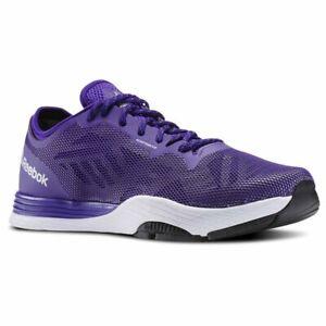 Reebok Cardio Ultra 2.0 Size 3 Violet RRP £80 Brand New V68114 Save 50%