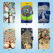 The Tree of Life Flip Wallet Case Cover for HTC 10 One M7 M8 M9 087