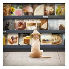 Pepper The Foodie Loose Leashes Greeting Card Blank Inside Any Occasion