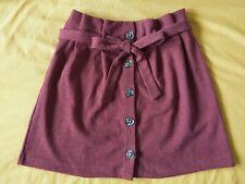 Terracota skirt Primark size 14 never worn