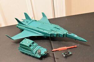 Kenner Mega Force Triax Backlash Plane 1989 Incomplete