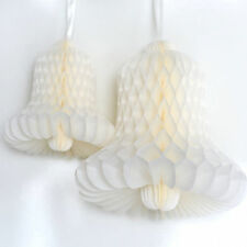 Paper Honeycomb bell hanging party decoration - custom color - 25 cm - nursery