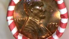 1972-P BU ROLL U.S. LINCOLN MEMORIAL CENTS OBW  $3800 - $2500 - DONT GET FOOLED