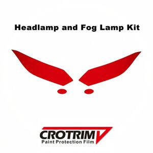 Pro Paint Protection Film Headlight & Fog Light Kit For Honda HR-V 2016-2018
