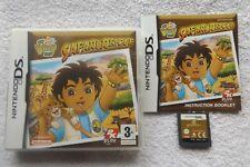 GO DIEGO GO! SAFARI RESCUE NINTENDO DS V.G.C. FAST POST ( family/kids game )