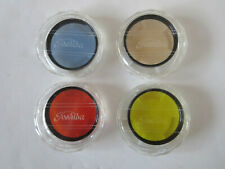 LOT 4 TOSHIBA 55 mm FILTERS B40,  A40,  S 56 2 (02),  S Y48 2 (Y2)  CASES PAPERS
