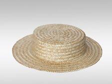 Canotier de paja sombrero Canotier complementos ropa de fiesta acdf8079042