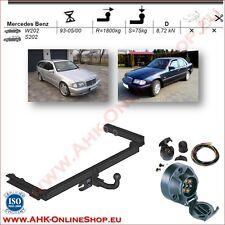 AHK ES7 Mercedes C-Klasse W202 S202 Bj.93-00 Anhängevorrichtung Anhängerkupplung