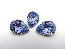 1 Provence Lavender Swarovski Crystal Stone Pear 4320 18 x 13