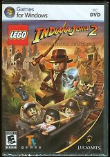 LEGO Indiana Jones 2 The Adventure Continues PC Game Brand New & Factory Sealed