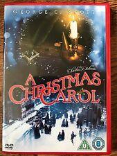 George C Scott A CHRISTMAS CAROL ~ 1984 Charles Dickens Scrooge Classic | UK DVD