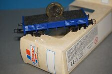 RF30] Roco H0 Low-Sided Wagon with 1 Coin Toy Fair Nϋrnberg 2002 Ovp