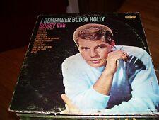 BOBBY VEE-I REMEMBER BUDDY HOLLY-LP-VG-LIBERTY-MONO-PEGGY SUE-TRUE LOVE WAYS