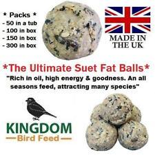 More details for fat balls suet for birds all seasons wild bird food premium high energy balls