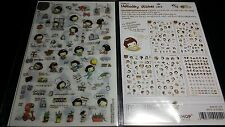 5 sheets Korean Cooky's Helloday  PVC stickers adhesive journal Diary scrapbook