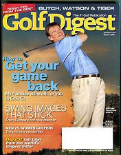 Golf Digest Magazine March 2006 Ernie Els Get Your Game Back EX 022316jhe