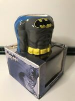 DC Comics Ceramic Batman 3D Torso Superhero Body Mug Cup BOXED