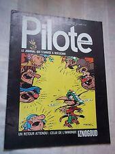 """JOURNAL """"PILOTE no 639"""" (1972) COUV. TABARY / REISER"""
