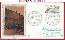 ITALIA FDC FILAGRANO GIORNATA MARTIRI CADUTI PER L'INDIPENDENZA 1986 ROMA Y440