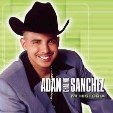 Mi Historia w/DVD Adan Chalino Sanchez CD 2004 Sony Discos Inc fast free ship
