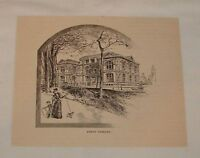 1894 magazine engraving ~ LENOX LIBRARY, New York