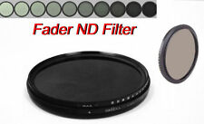 77mm Fader ND Filter Neutral Density ND2 to ND400 ND4 ND8 For Nikon Canon Lens