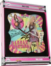Pendule murale Disney HANNAH MONTANA rose horloge 25 cm-