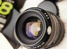 rare Boxed Komura 28mm f2.8 komuranon camera lens canon fd mount inc metal hood