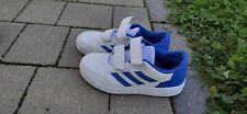 Turnschuhe Jungen, Adidas, Gr. 33, blau-weiß, gebraucht