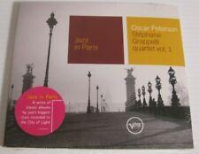 "Oscar Peterson ""Jazz in Paris"" w/ Grappelli Quartet Vol 1 - BRAND NEW & SEALED"