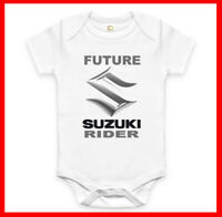 RARE NEW FUTURE SUZUKI DRIVER BABY CLOTHES FUNNY BODYSUIT ROMPER. EXPLORE NOW!