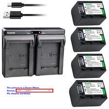 Kastar Battery Dual Charger for Sony NP-FH70 & DCR-DVD705 DCR-DVD708 DCR-DVD710