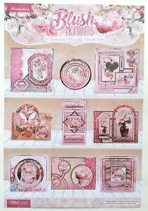 Hunkydory Luxury Blush Moments 5 piece card kit *New*