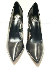 Vince Camuto Womens Anessta Pump Marrom Black Clear Animal Print Size 6 M Us