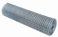 """Wire Mesh 1/2"""" Holes 4FT tall 30 Meters Aviary Bird Mesh 19G Garden Fencing"""